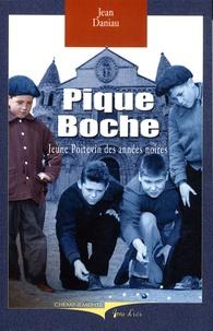 Jean Daniau - Pique-Boche - Jeune Poitevin des années noires.