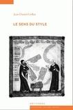 Jean-Daniel Gollut - Le sens du style.