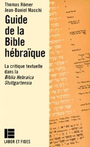 Deedr.fr GUIDE DE LA BIBLE HEBRAIQUE. la critique textuelle dans la Biblia Hebraica Stuttgartensia (BHS) Image