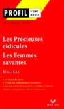 Jean-Daniel Mallet et  Molière - Les Précieuses ridicules suivi de Les Femmes savantes, Molière.