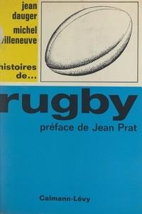 Jean Dauger et Michel Villeneuve - Rugby.