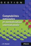 Jean-David Avenel - Comptabilités nationales et normalisation comptable internationale.