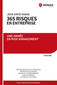 La gestion des risques en entreprise 3e édition - Jean-David Darsa