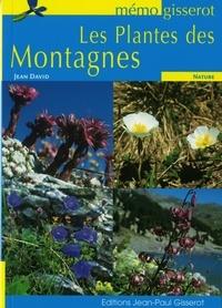 Jean David - Les plantes des montagnes.