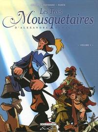 Jean-David Morvan et Michel Dufranne - Les Trois Mousquetaires Tome 1 : .