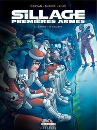 Jean-David Morvan et Pierre-Mony Chan - Sillage : premières armes  : Coffret en 2 volumes : Tome 1, Esprit d'équipe ; Tome 2, Vitesse de croisière.