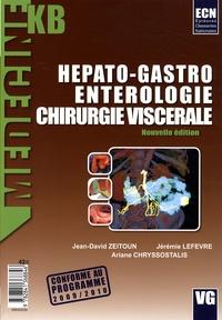 Jean-David Zeitoun et Jérémie Lefevre - Hépato-Gastro-Entérologie-Chirurgie viscérale.