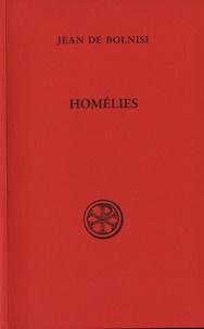 Homélies- Des dimanches de Carême suivant la tradition de Jérusalem et autres homélies (I-XIV) -  Jean de Bolnisi |