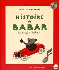 Jean de Brunhoff - Histoire de Babar le petit éléphant. 1 CD audio