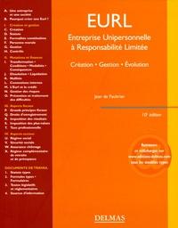 Jean de Faultrier - EURL - Entreprise unipersonnelle à responsabilité limitée.
