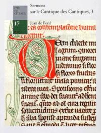 Deedr.fr Sermons sur le Cantique des Cantiques. Tome 3, Sermons 88 à 120 Image
