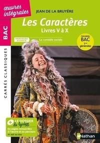 Jean de La Bruyère - Les Caractères, Livres V à X : texte intégral - Parcours associé : La comédie sociale.