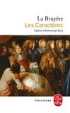 Jean de La Bruyère - Les Caractères.