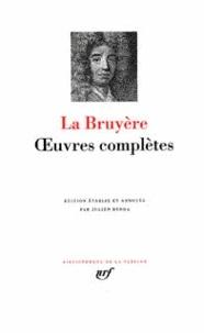 Jean de La Bruyère - Oeuvres complètes.