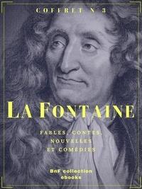 Jean de La Fontaine - Coffret La Fontaine - Fables, contes, nouvelles et comédies.