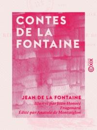 Jean De La Fontaine et Jean-Honoré Fragonard - Contes de La Fontaine.