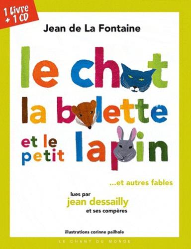 Jean de La Fontaine - Fables de Jean de La Fontaine. 1 CD audio