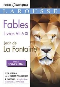 Téléchargez des livres epub pour kobo Fables livres VII à XI (Litterature Francaise) par Jean de La Fontaine 9782035979193