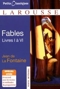 Jean de La Fontaine et Guillaume Peureux - Fables - Livres I à VI.