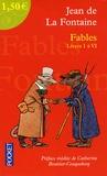 Jean de La Fontaine - Fables - Livres 1 à 6.