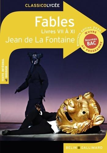 Fables. Livres VII à XI  Edition 2020