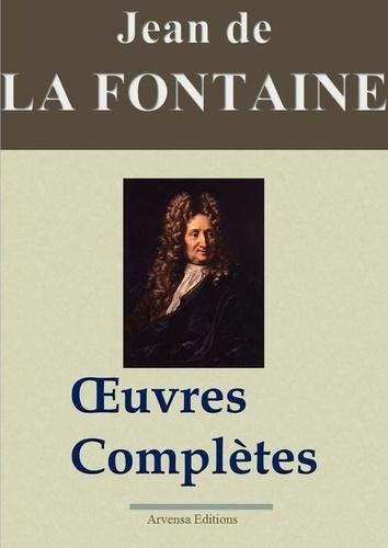 Jean de La Fontaine : Oeuvres complètes illustrées | Les 425 fables de La Fontaine, contes et pièces de théâtre. Nouvelle édition 2019 sans DRM