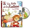 Jean de La Fontaine - Les fables de La Fontaine racontées par Louis de Funès. 1 CD audio