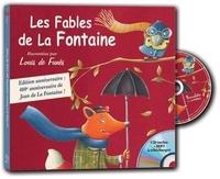 Jean de La Fontaine et Louis de Funès - Les Fables de La Fontaine racontées par Louis de Funès. 1 CD audio