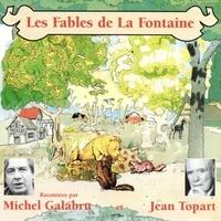 Jean de La Fontaine et Michel Galabru - Les fables de La Fontaine (Volume 1).