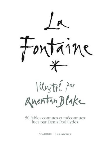 Les fables de La Fontaine  avec 1 CD audio