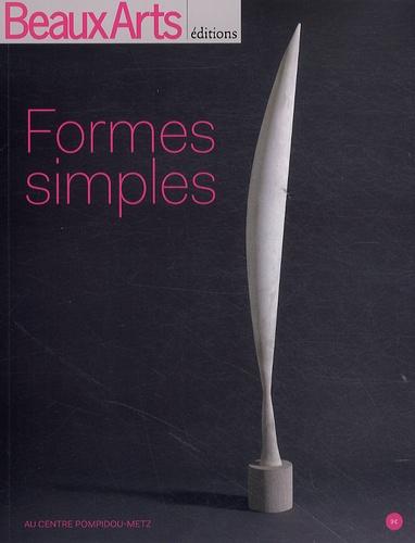 Jean de Loisy - Formes simples.