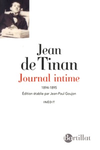 Jean de Tinan - Journal intime 1894-1895.