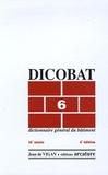 Jean de Vigan - Dicobat 6 - Dictionnaire général du bâtiment.