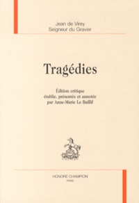 Jean de Virey - Tragédies.