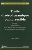 Jean Délery - Traité d'aérodynamique compressible - 3 volumes.