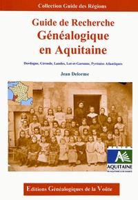 Jean Delorme - Guide de recherche généalogique en Aquitaine.