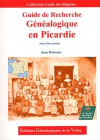 Jean Delorme - Guide de recherche généalogique en Picardie.