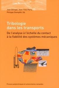 Goodtastepolice.fr Tribologie dans les transports - De l'analyse à l'échelle du contact à la fiabilité des systèmes mécaniques Image
