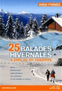 Jean-Denis Achard - balades hivernales à pied ou en raquettes Ariège-Pyrénées.