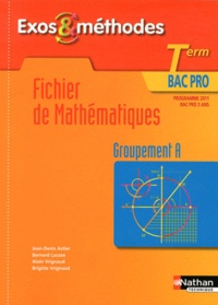 Fichier de mathématiques Tle Bac pro - Groupement A, programme 2011.pdf