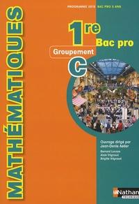 Mathématiques 1e Bac Pro Groupement C - Programme 2010.pdf