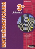 Jean-Denis Astier - Mathématiques 3e prépa-pro - Programme 2012.