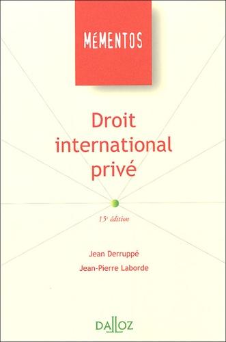 Jean Deruppé - Droit international privé.