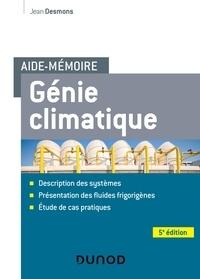 Jean Desmons - Aide-mémoire Génie climatique.