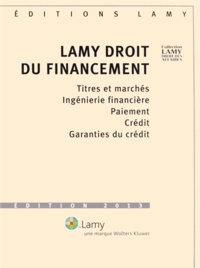 Deedr.fr Lamy droit du financement - 2 volumes Image