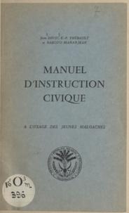 Jean Devic et Rakoto Mananjean - Manuel d'instruction civique - À L'usage des jeunes malgaches.