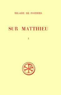 SUR MATTHIEU. Tome 1, Edition bilingue français-latin.pdf