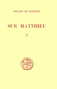 SUR MATTHIEU. Tome 2, Edition bilingue français-latin.pdf