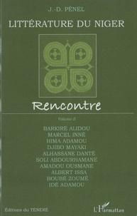 Jean-Dominique Pénel - Littérature du Niger - Rencontre, volume 2.