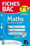 Jean-Dominique Picchiottino - Fiches bac Maths Tle S (spécifique & spécialité) - fiches de révision Terminale S.